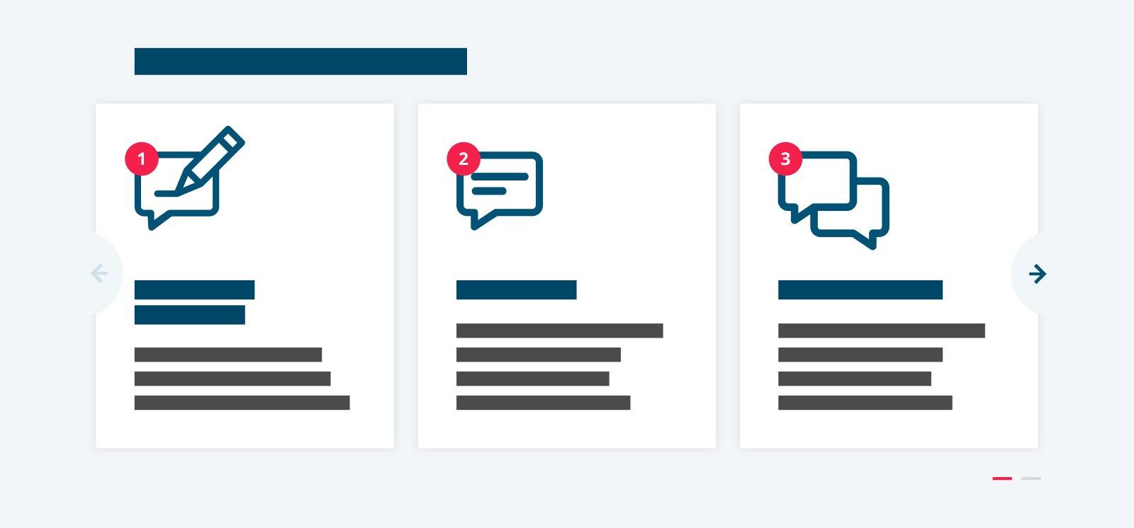 Content component - Sollicitatieprocedure