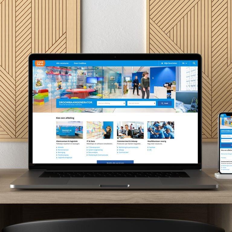 Recruitmentwebsite Coolblue