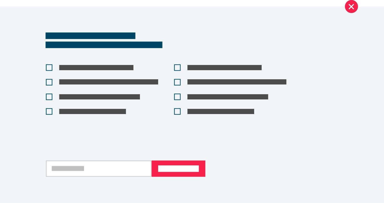 Content component - Job alert opties